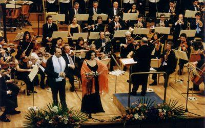 Concierto por Mozambique y Perú 2002